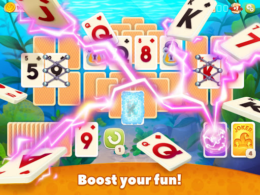 Undersea Solitaire Tripeaks android2mod screenshots 18