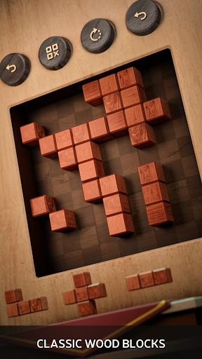Wood SudoBlocks 3D - A Better Classic Wood Puzzle android2mod screenshots 2