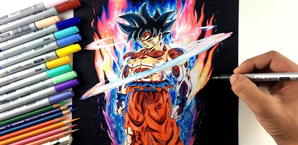 Comment Dessiner Goku Ultra Instinct Ez Pour Android Apk Telecharger