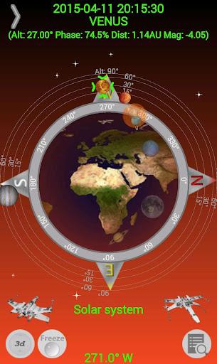 Planet Finder screenshot 1