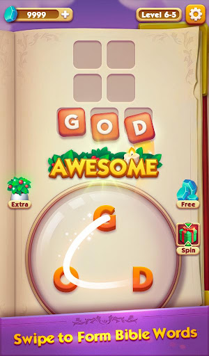 Bible Word Puzzle - Free Bible Story Game painmod.com screenshots 7