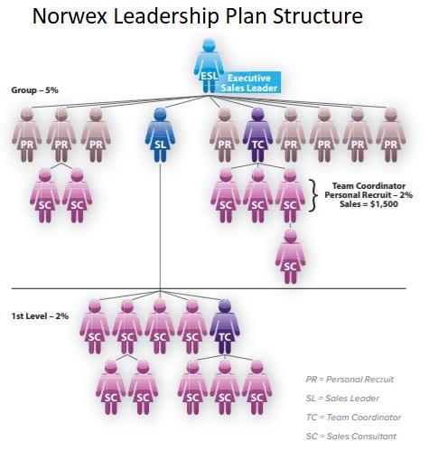 norwex compensation plan structure