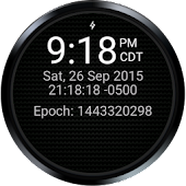 DevOps Time (Wear Watch Face)