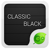 Black GO Keyboard Theme