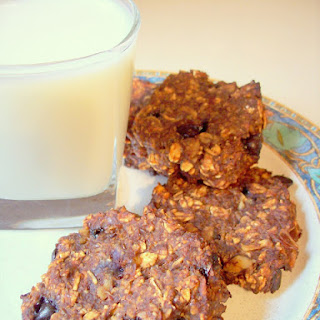 Cocoa Banana Oat Breakfast Cookies