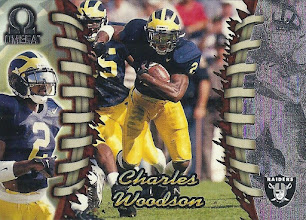 Photo: Charles Woodson 1998 Pacific Omega RC