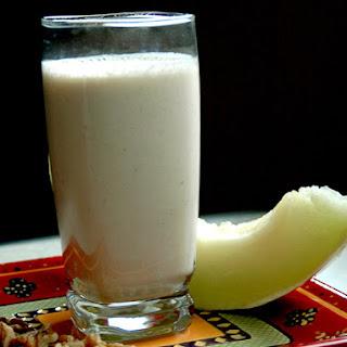 Melon Creamsicle Smoothie.