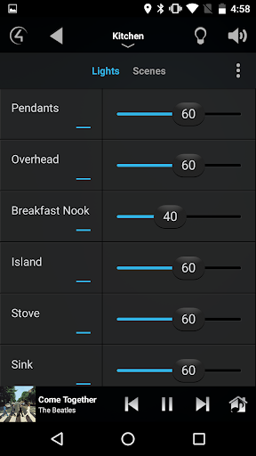 Control4u00ae for Android  screenshots 5