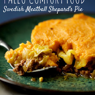 Paleo Swedish Meatball Shepherd's Pie