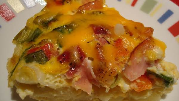 Potato, Ham & Cheese Bake Recipe