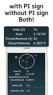Circle Area Circumference Calculator 3