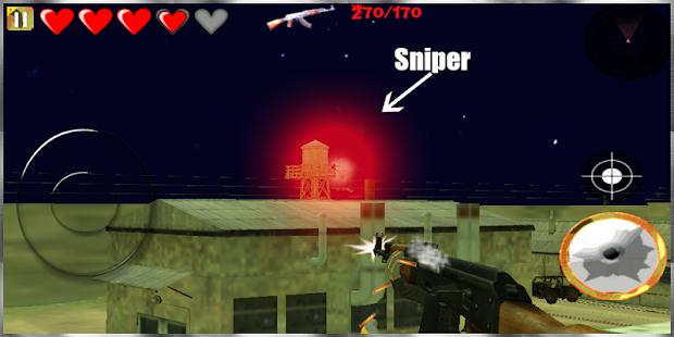 Gun War Battle 3D: Free Games screenshot