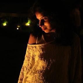 One Light!! by Siddharth Kakade - People Portraits of Women