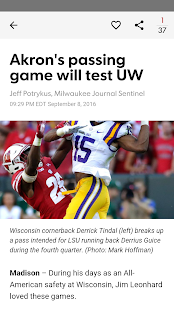 Journal Sentinel Badgers XTRA - náhled