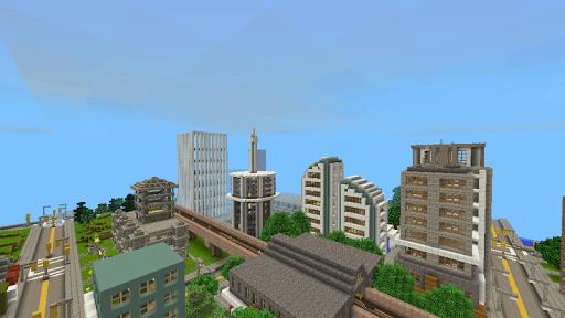 MaxCraft: Big City Building Games 9.2.3 screenshots 2