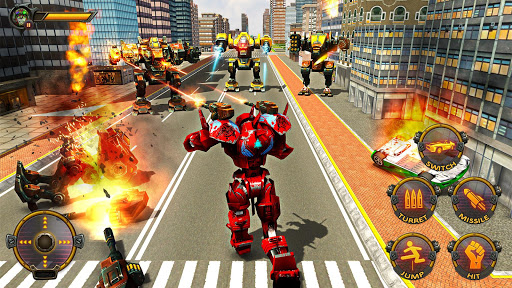 Robot Car War Transform Fight  screenshots 6