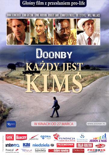 Przód ulotki filmu 'Doonby. Każdy Jest Kimś'