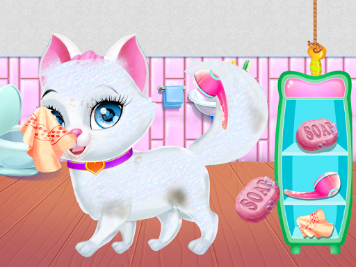 Pet Vet Care Wash Feed Animals - Animal Doctor Fun android2mod screenshots 8