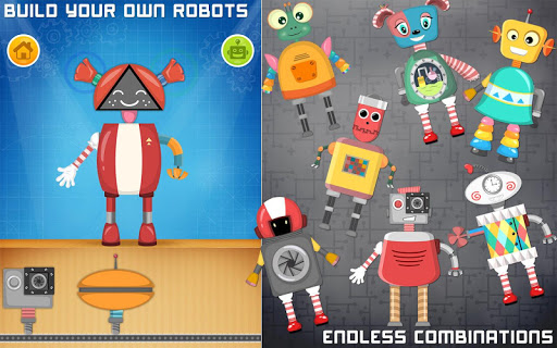 Robot game for preschool kids apkpoly screenshots 1