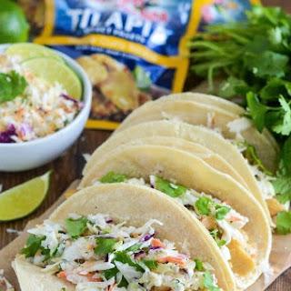 Coconut Curry Fish Tacos Recipe