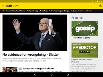 BBC Sport Screenshot 16