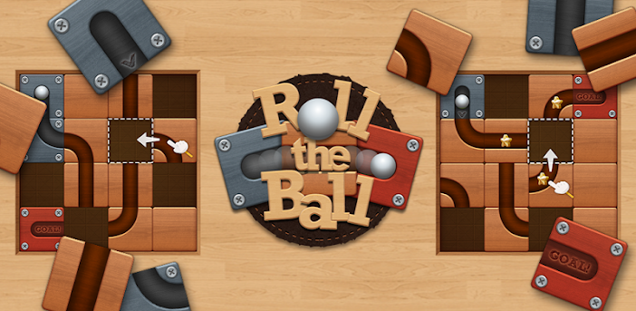 Roll the Ball: Schieberätsel