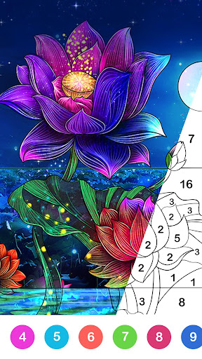 Paint.ly Color by Number - Fun Coloring Art Book 2.1.5.5 screenshots 1