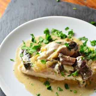Low Fat Mushroom Chicken.