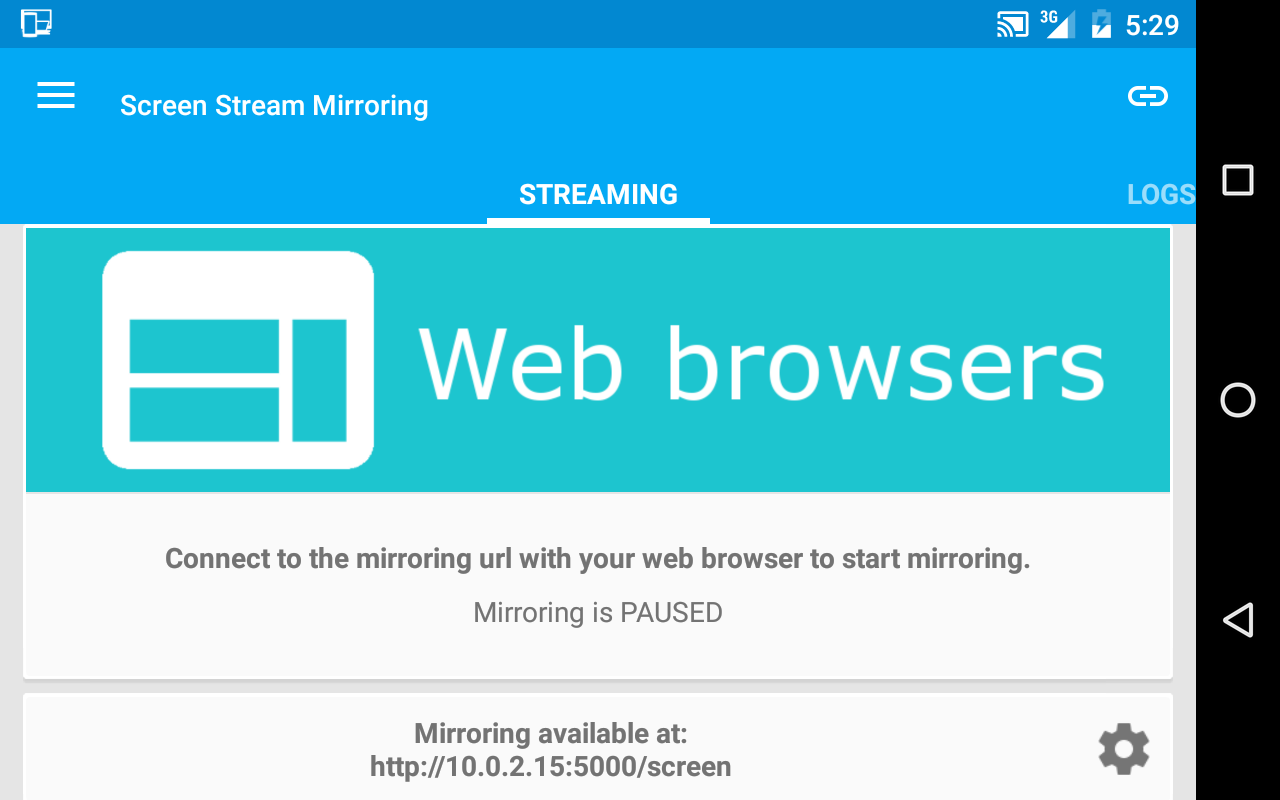 Screen Stream Mirroring Free- screenshot