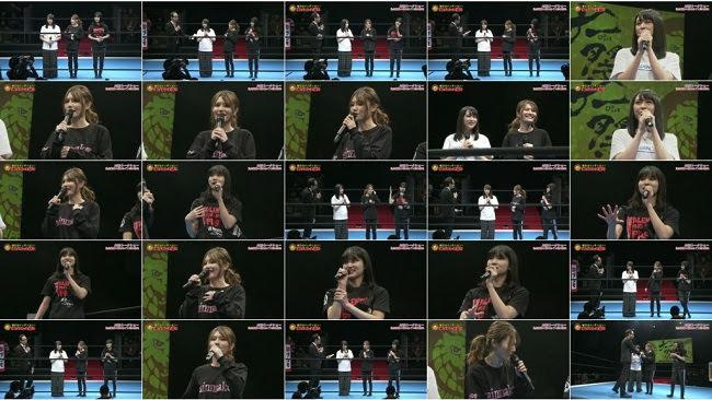 190103 (540p) NJPW World DaiProWres Festival 2019 Talk Show (Taniguchi Megu, Komiyama Haruka, Kawamoto Saya)