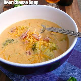 Smoky Broccoli Beer Cheese Soup.