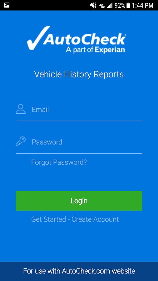 AutoCheck® Mobile for Consumer- screenshot
