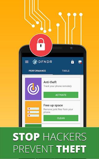 DFNDR Security: Antivirus, Anti-hacking & Cleaner screenshot 2