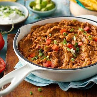 Easy Taco Bean Dip.