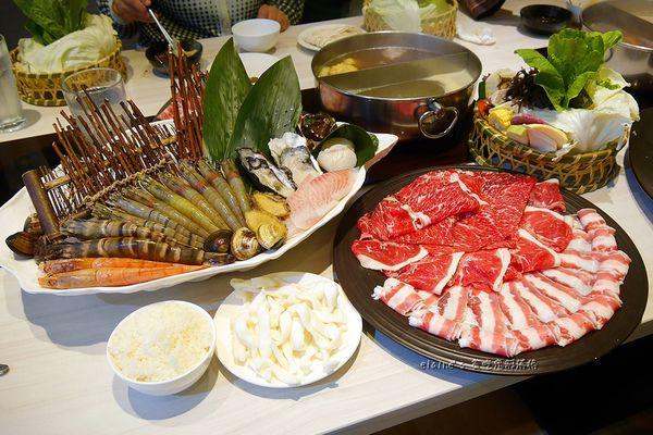 覺醒幸福鍋物。除了高CP值的海鮮肉品,還有網美愛心花牆,讓你好吃又好拍x新莊火鍋推薦