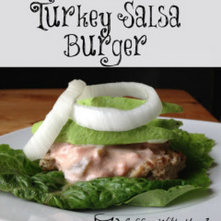 Turkey Salsa Burger