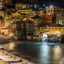 by Sergio Di - City,  Street & Park  Night ( #genova, #bynight, #boccadasse, #liguria, #riviera )