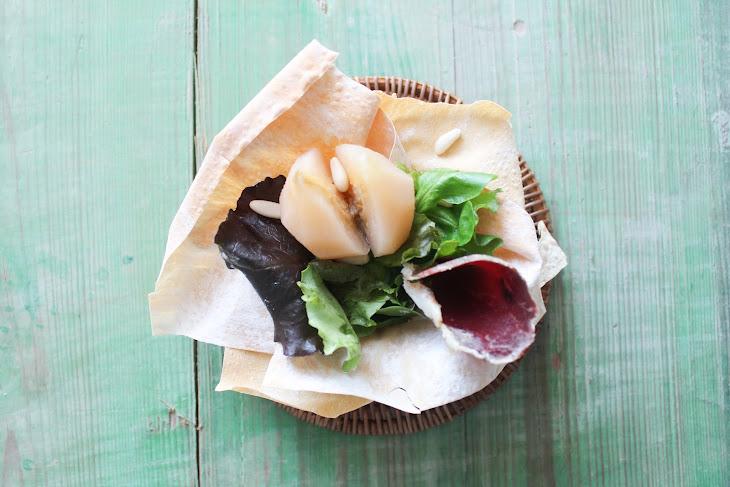Spicy San Juan Pear and Duck Ham Salad Recipe