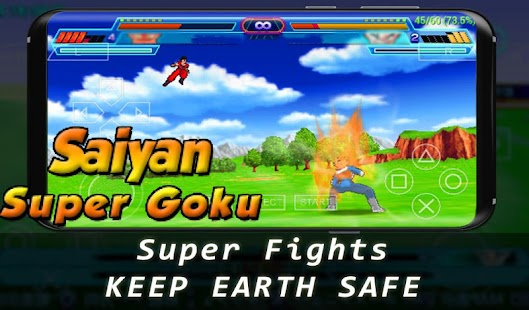 Super Goku Saiyan Fighter - náhled