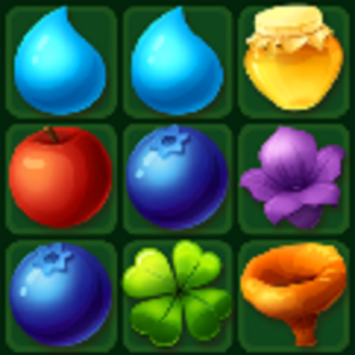 Fairy Forest - match 3 games, puzzles