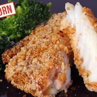 Cider-Battered Baked Cod Made With Einkorn Flour