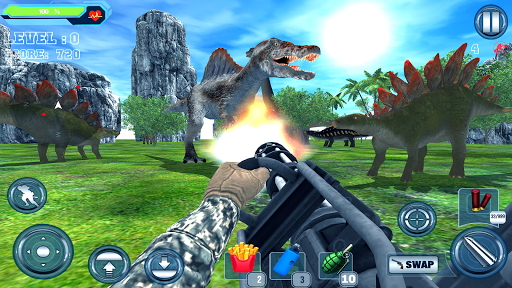 Dinosaur Hunter Adventure apktram screenshots 11