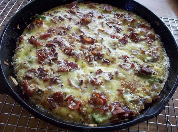 In an 8 inch ovenproof skillet, I use my well seasoned cast iron skillet. ...