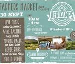 Farmers Market showcasing AfriCamps at Stanford Hills : Stanford Hills Estate