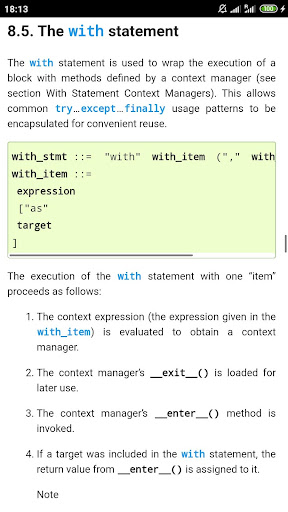 Python 3.7 Docs 1.1.0 Screenshots 6