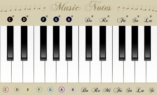 玩免費音樂APP|下載钢琴与笔记 app不用錢|硬是要APP