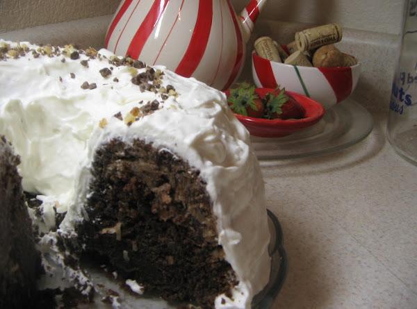 Ring-of-coconut Fudge Cake Recipe