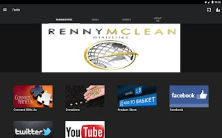 Screenshot of Renny McLean Ministries