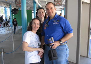 Photo: Heather, Nicole & Don...  though we usually identify one another by Twitter names, so @Pillownaut, @Aerognome and @SFC_Don!