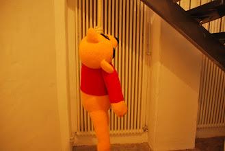 "Photo: Deschler Galerie: Patricia Waller Broken Heroes ""Winnie-The-Pooh"""
